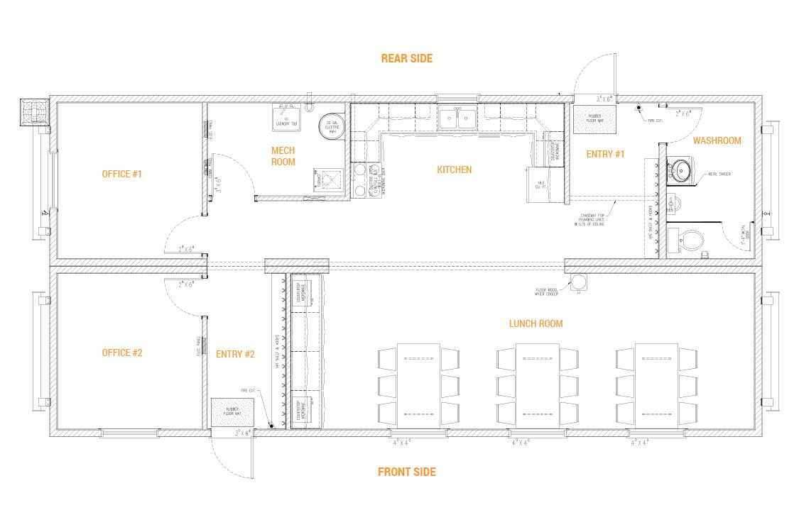 Lunchroom (2 Units)