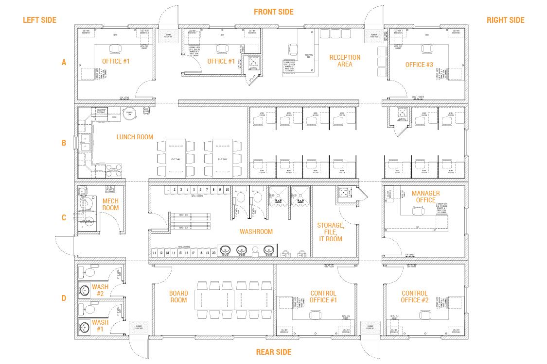 4 Box Mobile Office Complex