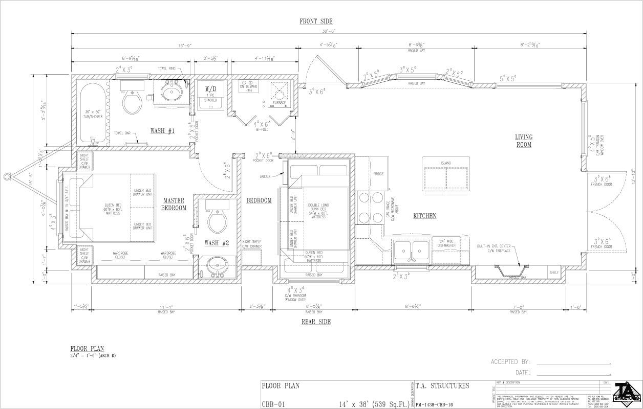 TAS Park Model Floorplan